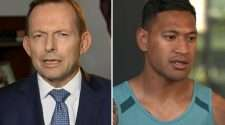 tony abbott israel folau glorias 2019 penny sharpe new south wales homophobic