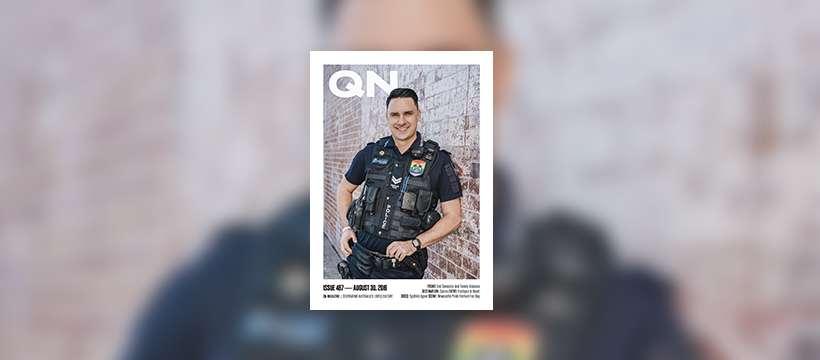 Issue 487 Senior Constable Ben Bjarnesen End Domestic Violence
