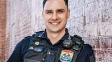 queensland police officer Ben Bjarnesen lgbti liaison officer domestic and family violence awareness campaign
