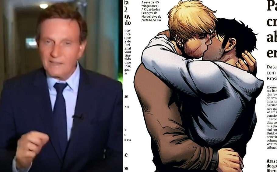 brazil rio de janiero Mayor Marcelo Crivella gay kiss avengers marvel comic