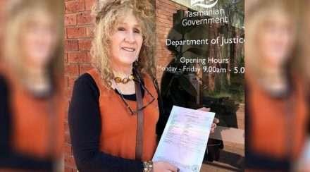tasmania transgender martine delaney birth certificate gender reform