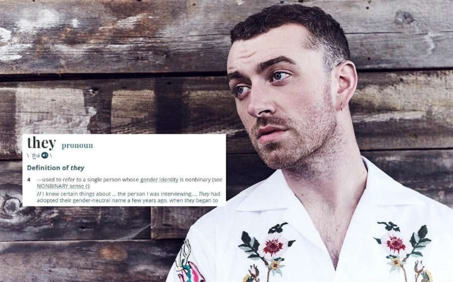 merriam webster dictionary non binary sam smith gender