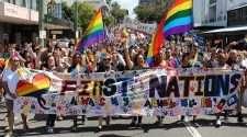 brisbane pride festival brisbane march 2019 first nations rainbow flag