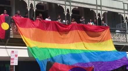 queensland aids council peter black brisbane pride rally