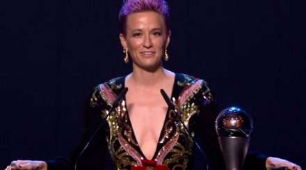 megan rapinoe fifa the best awards female player of the year homophobia racism