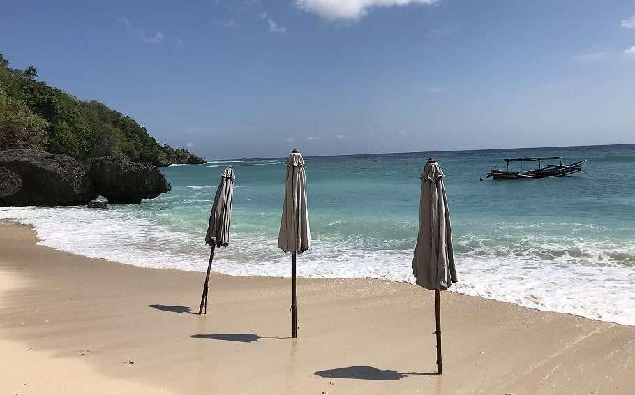bali padang beach indonesia