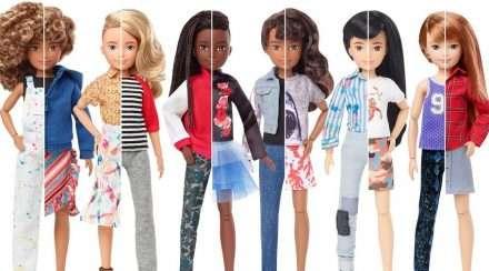 mattel gender neutral dolls creatable world barbie