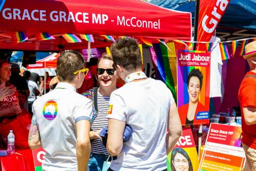 senator nita Green Brisbane pride festival