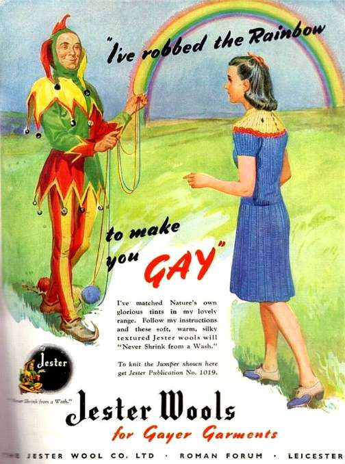 vintage ads gayer
