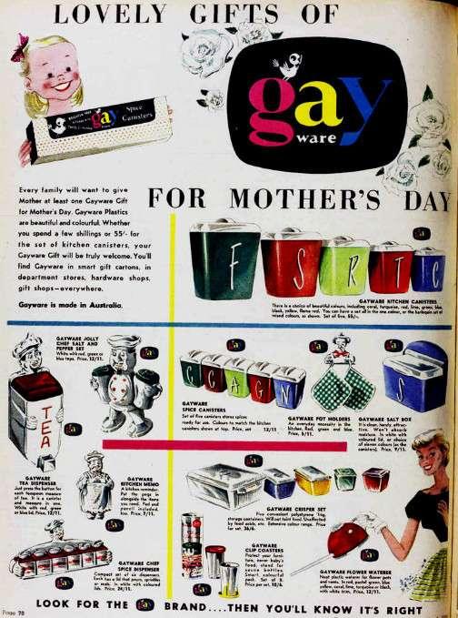 gayware vintage ads gayer