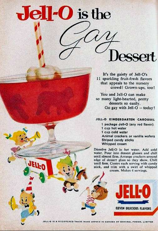 jell-o vintage ads gayer