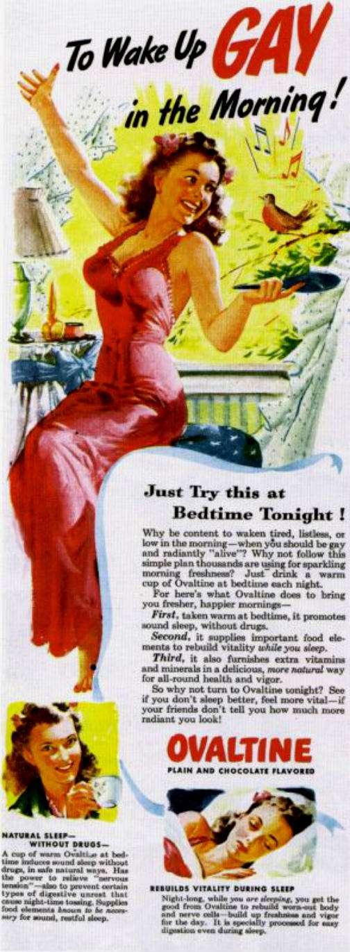 ovaltine vintage ad