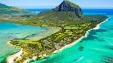 mauritius island indian ocean stock photo