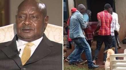 uganda president yoweri museveni death penalty activist