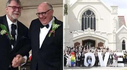 uniting church anglican church drew reid noel richards wedding same-sex marriage bendigo