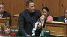 Tāmati Coffey new zealand baby parliament gay