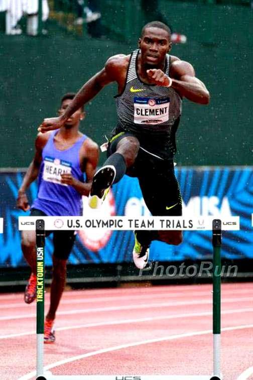 olympic gold medallist kerron clement