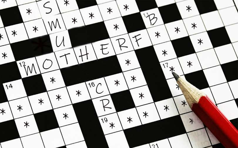 vulgarity and obscenity xxx adult crossword