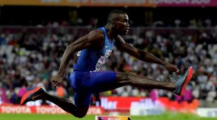 olympic gold medallist kerron clement