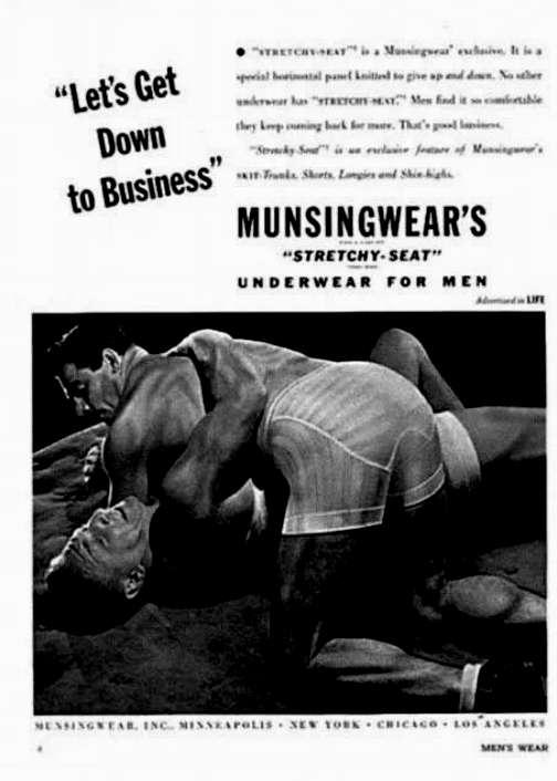 vintage male underwear advertisements