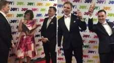 joy 94.9 wedding gay couple same-sex marriage