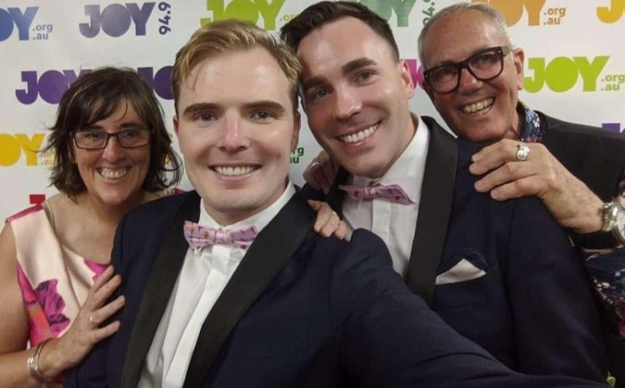 joy 94.9 same-sex marriage gay couple