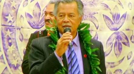 cook islands prime minister henry puna