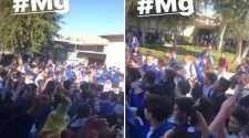 california catholic high school students protest walk out discrimination