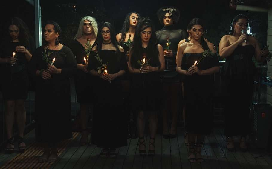 mhelody bruno brisbane transgender vigil runway movement ella ganza