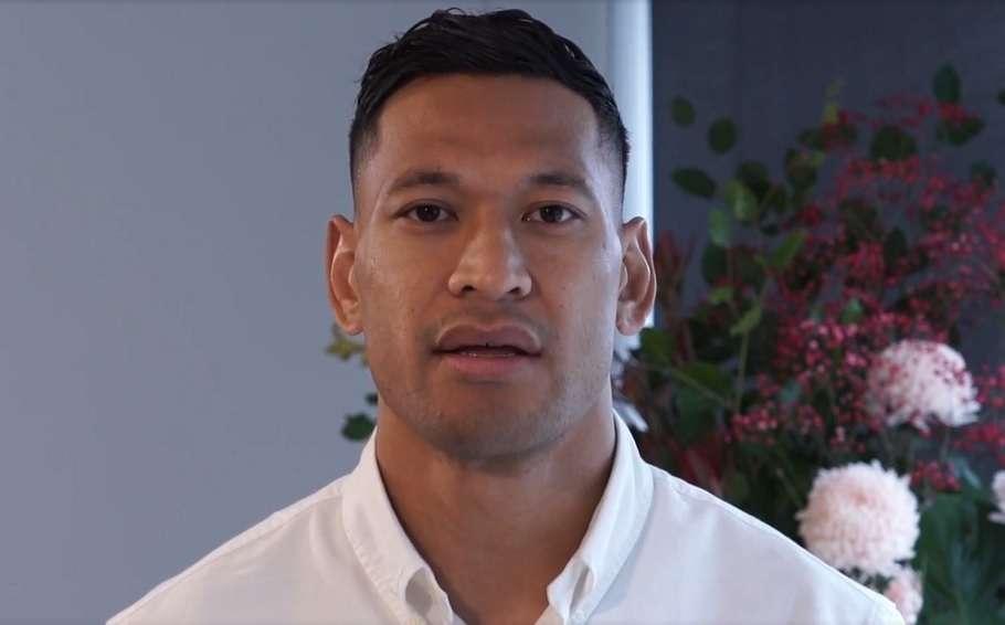 israel folau rugby australia settlement gay