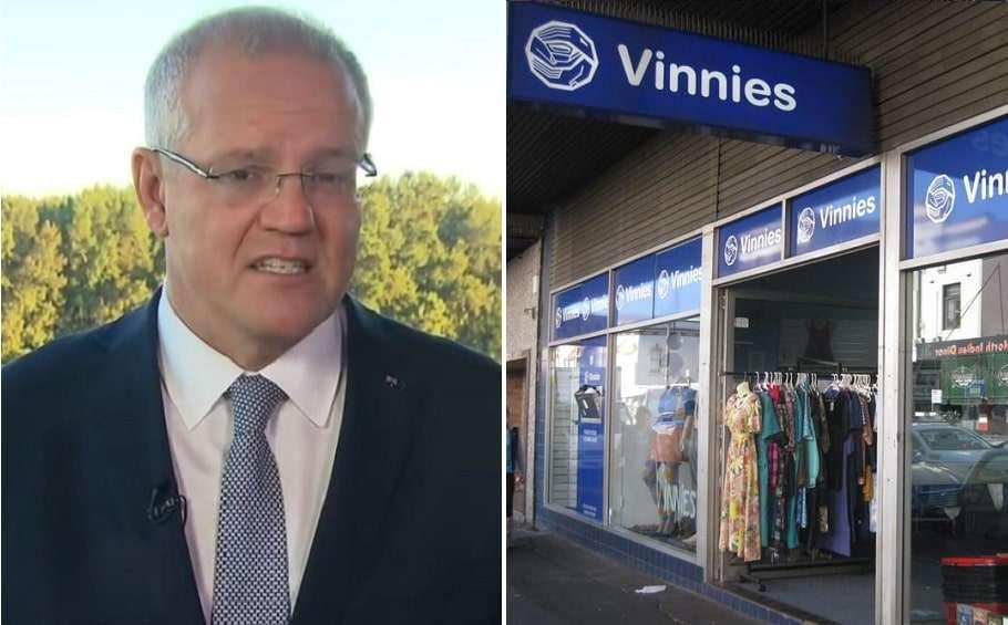 scott morrison religious freedom religious discrimination vinnies st vincent de paul