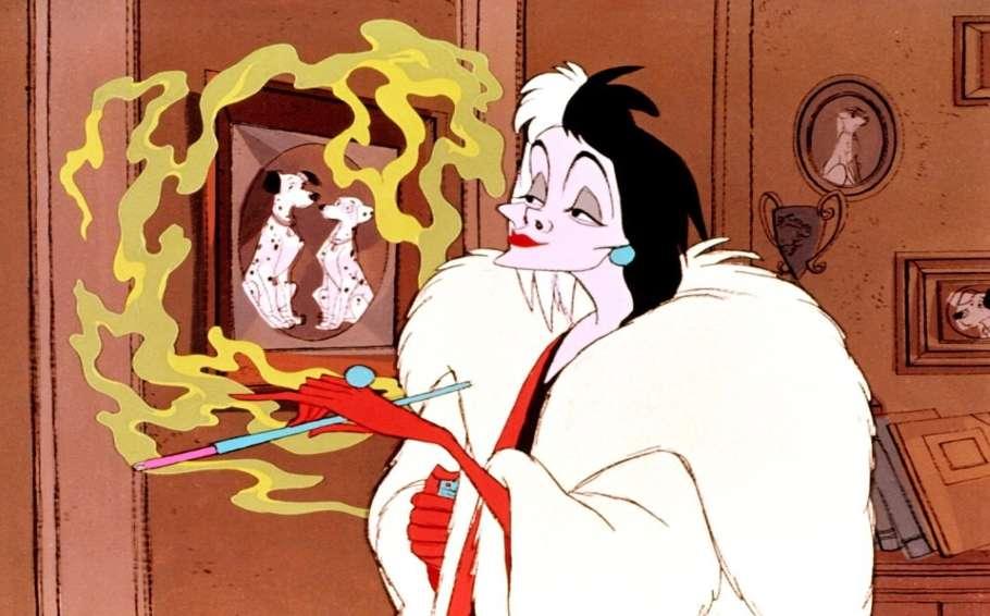Cruella De Vil 101 Dalamtians gay icons