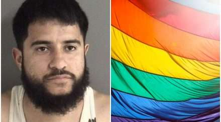 US man burns pride flag,receives 16 years prison