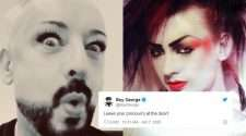 boy george accused of being transphobic
