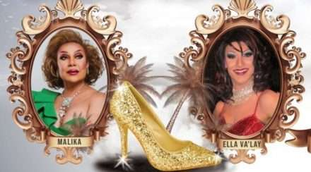 sportsman hotel drag hall of fame malika ella va'lay drag queen australia day brisbane queensland