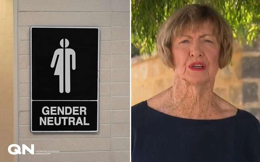 margaret court gender neutral toilets australian open rod laver arena