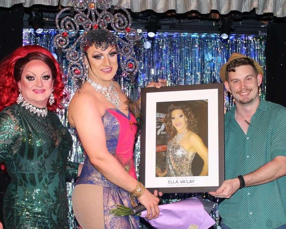 sportsman hotel drag hall of fame malika ella va'lay 2020