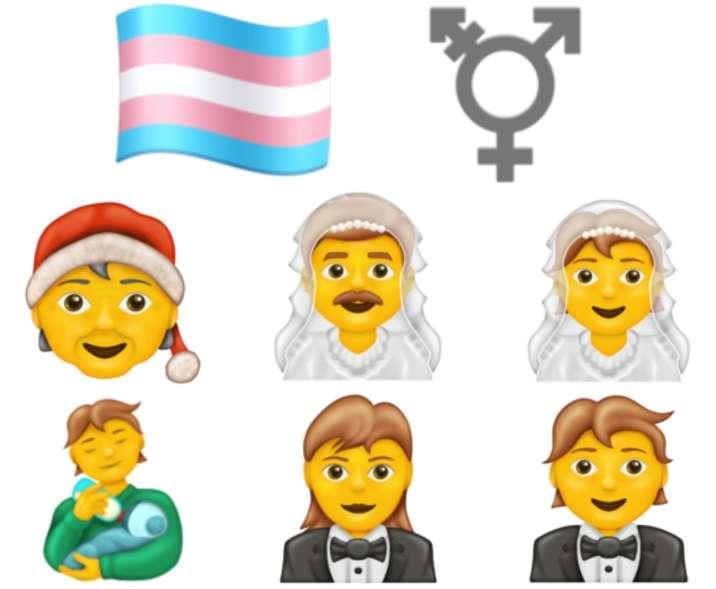 transgender flag gender neutral emoji emojis unicode consortium