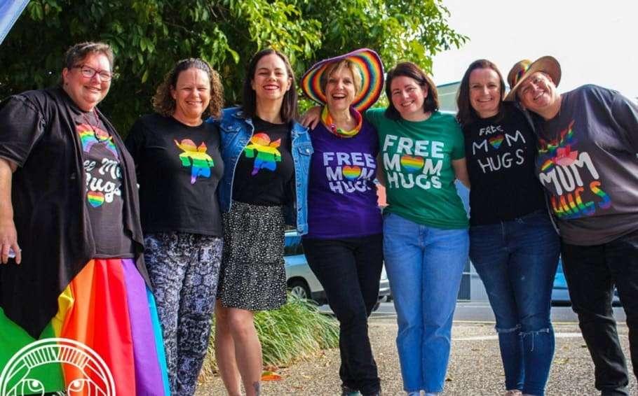 free mum hugs sunshine coast pride