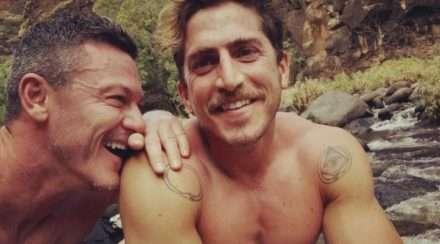 luke evans relationship boyfriend Rafa Olarra instagram