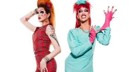 Scarlette fever drag queen brisbane hero shot