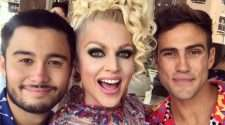 courtney act neighbours guest role mardi gras
