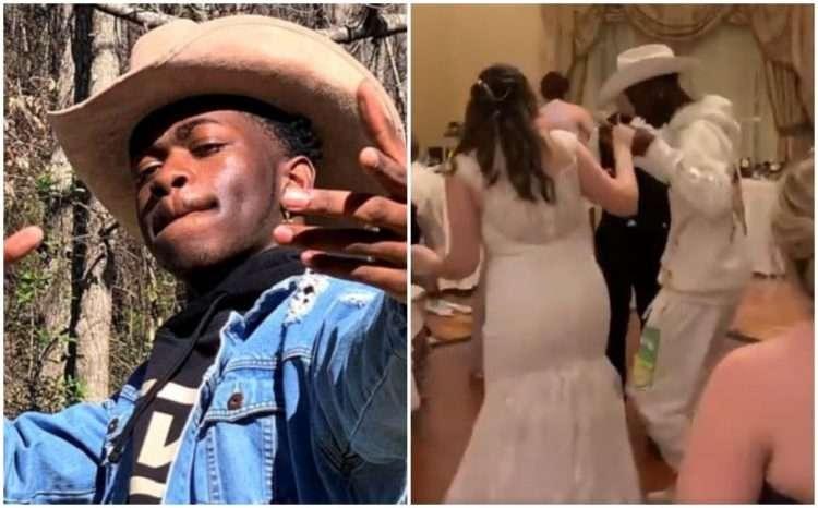 lil nas x crashes disney world wedding
