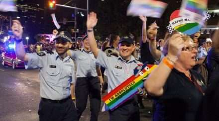 australian federal police afp sydney gay and lesbian mardi gras