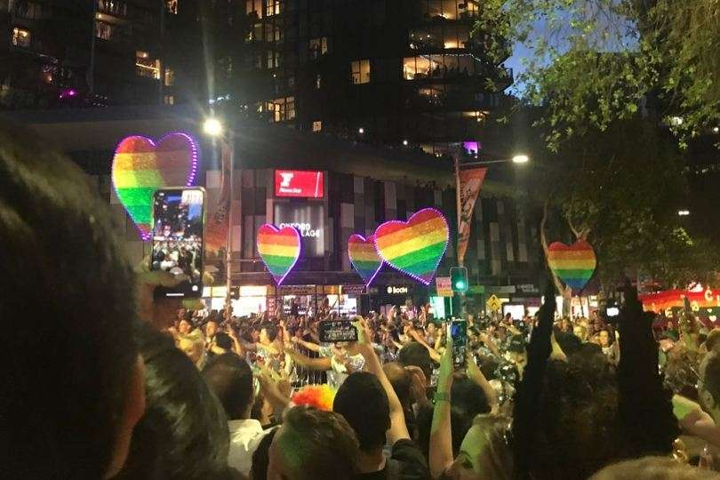 Sydney gay and lesbian mardi gras parade 2020