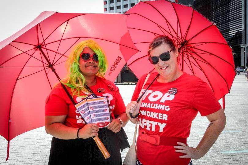 stop the raids sex worker rights day respect inc #decrimqld
