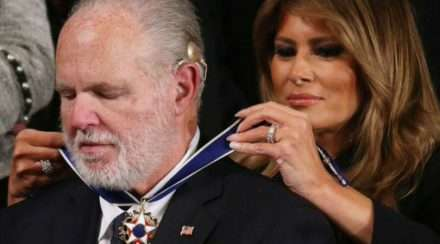donald trump rush limbaugh medal of freedom