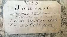 200-year-old diary matthew tomlinson