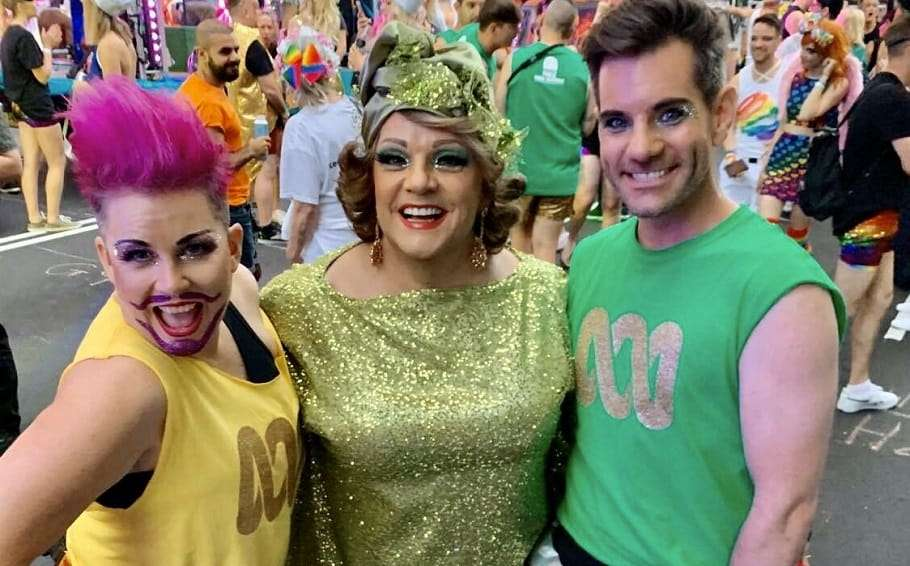 abc weather presenter nate byrne homophobic abuse sydney gay and lesbian mardi gras parade 2020