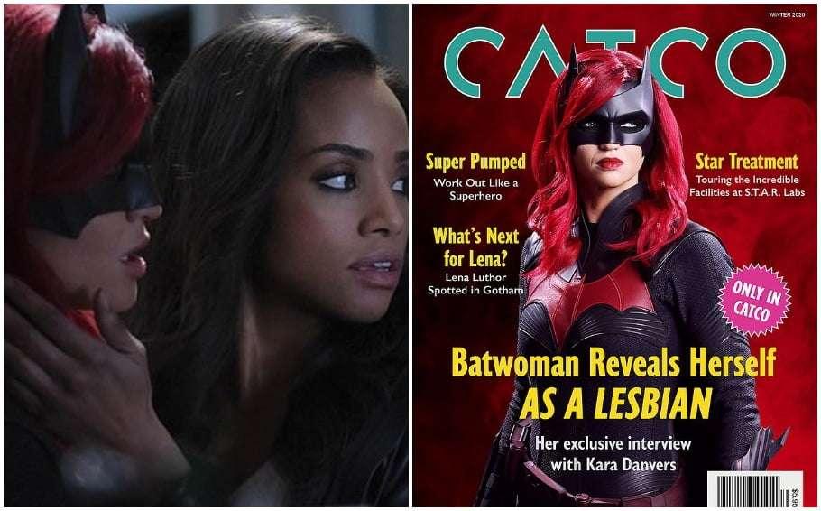 rusy rose first lesbian kiss as batwoman